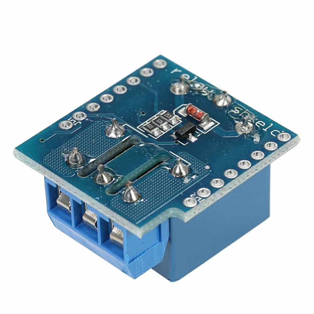3PCS Relais Shield Module voor Arduino Mini D1 Development Board 1-kanaals relais shield voor D1 MINI