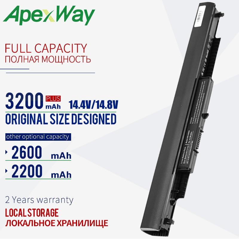 14.4V 2200mAh Rechargeable Laptop Battery For HP HSTNN-LB6U HS03 HS04 807956-001 240 245 250 255 G4 14-af0XX 15-ac0XX HSTNN-LB6V