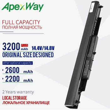 14.4V 2200mAh Rechargeable laptop battery for HP HSTNN-LB6U HS03 HS04 807956-001 240 245 250 255 G4 14-af0XX 15-ac0XX HSTNN-LB6V hstnn lb6v hs04 hstnn lb6u hs03 laptop battery for hp 245 255 240 250 g4 notebook pc for pavilion 14 ac0xx 15 ac0xx