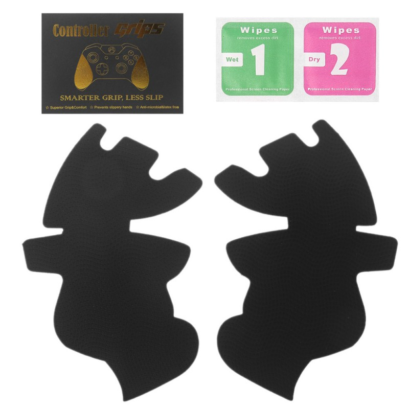Protective Skin Case For XBox One X S Controller Protector Cover Grips Caps 1 Pair Gamepad Handle Grips Anti-Skid Sticker Cover