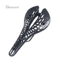 Mountain Bike Saddle Pattern Lightweight Seat Cycling Equipment Mountain Bike Spider Hollow Dead Flying Breathable Carbon Men