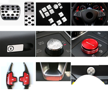 Lsrtw2017 Abs Car Interior Central Control Accessories for Mercedes Benz Gle Gls Ml Gl