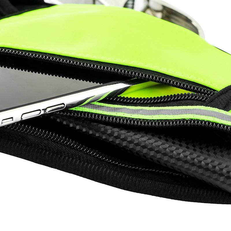 Fashion Sports Pockets Outdoor Multi-Function Waterproof Running Women's Water Bottle Pockets Phone Theft