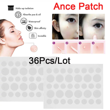Acne espinha remendo adesivos acne espinha removedor ferramenta absorver pus e óleo acne remendo cuidados com a pele como capa protetora 36 remendos