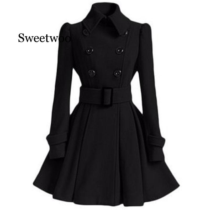 Outono inverno casaco feminino 2020 moda vintage