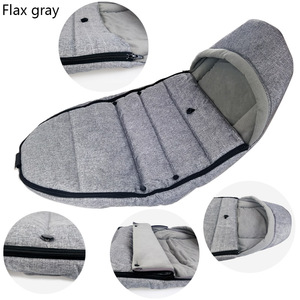 Image 4 - Universal Baby Stroller Sleep Bag Windproof Winter Socks For Yoya Yoyo Stroller Warm Footmuff Cover Baby Stroller Accessories