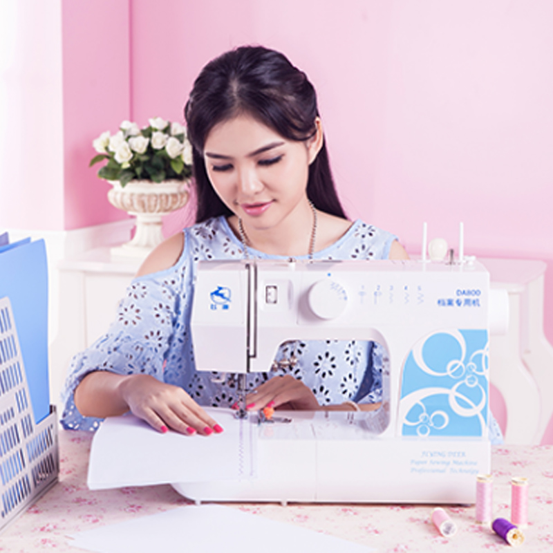 A4 Paper Document Line Installation Machine Eating Thick 30 Pages Document File Binding Special Sewing Machine