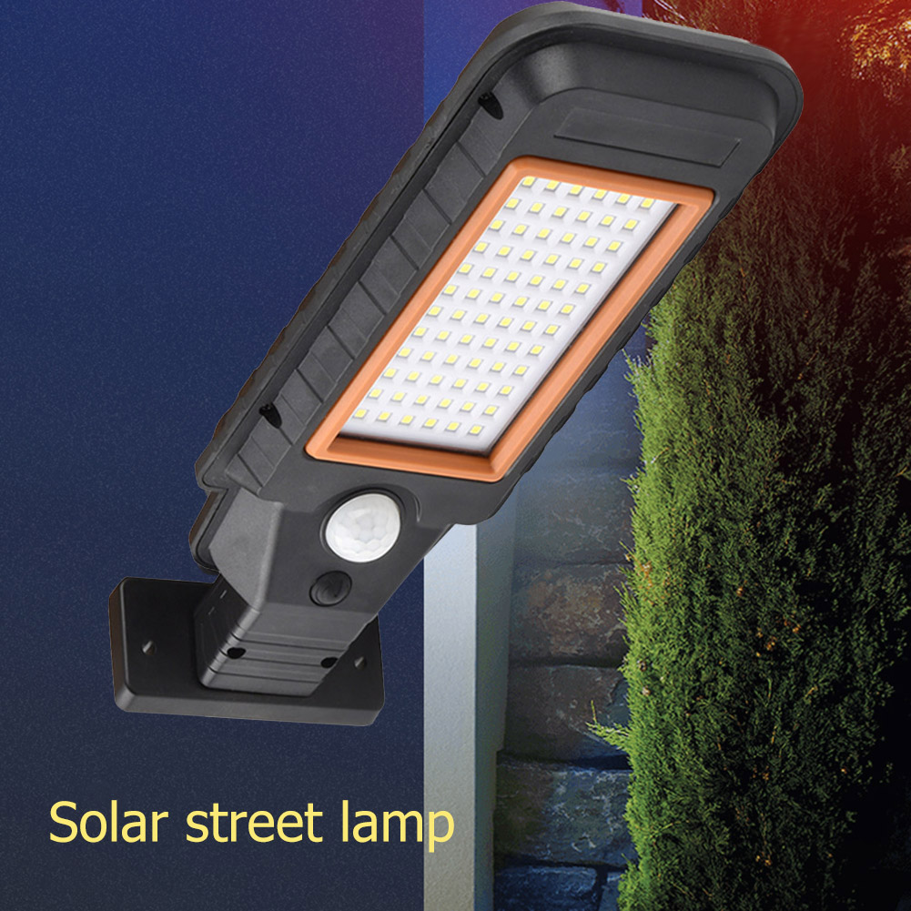 Waterproof Solar Wall Light Solar Lamp Human Motion Sensor Outdoor Security Lighting Lamp for Garden Street Pathway Yard