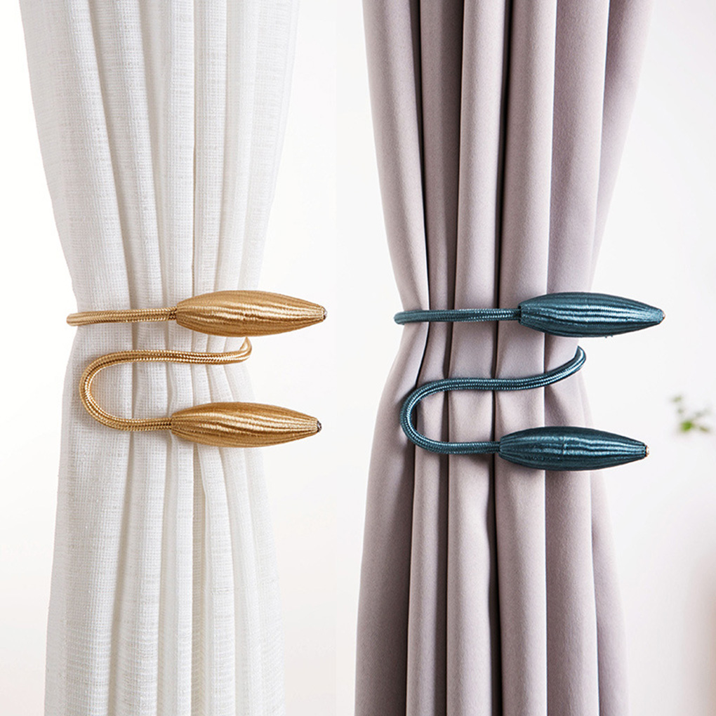 1x curtain tieback tie back leather