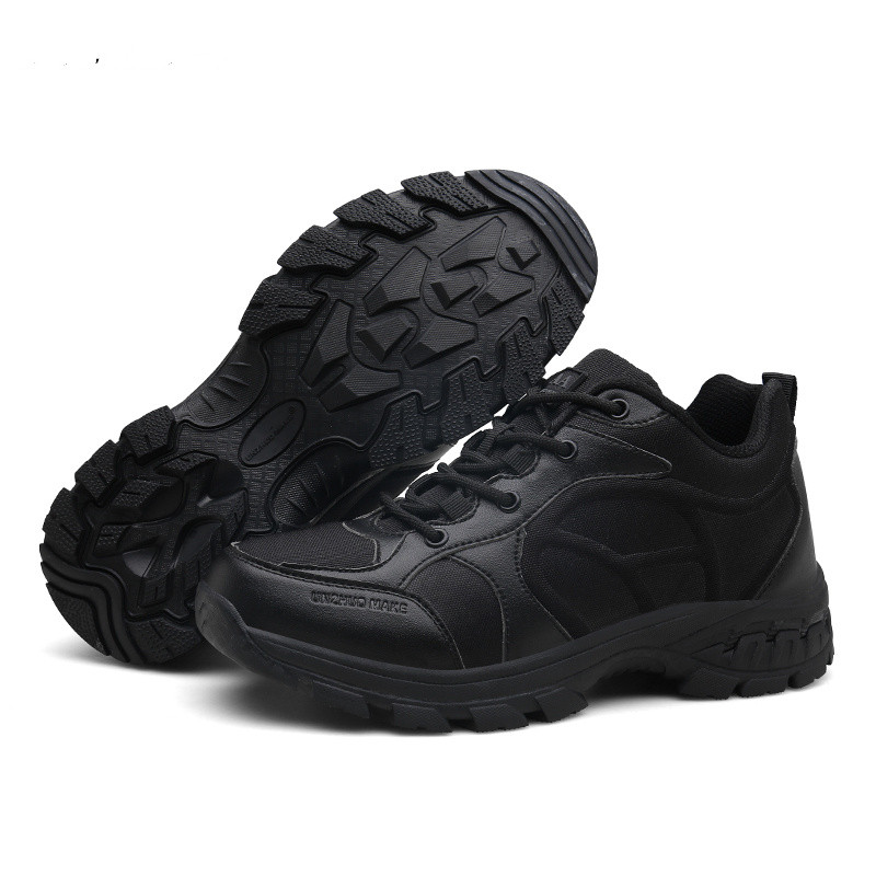 Men Desert Military Tactical Boots Male Outdoor Waterproof Hiking Shoes Men Sneakers For Men Non-slip Wear Sports Climbing Shoes