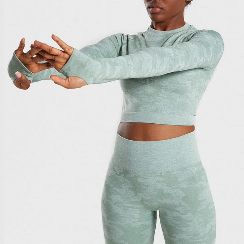 Yoga Leggings Women Gym Suit 2