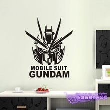 GUNDAM Wall Decal Vinyl Wall Stickers Decal Decor Home Decorative Decoration Anime Mobile Suit Gundam Car Sticker car sticker japanese cartoon fans seed gundam raiser vinyl wall stickers decal decor home decoration