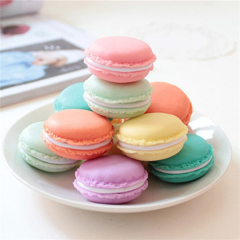 Vogvigo Candy Color Mini Cute Macarons Travel  Cosmetic Bag Makeup Case Box Organizer Toiletry Beauty Wash Kit Bath Bags