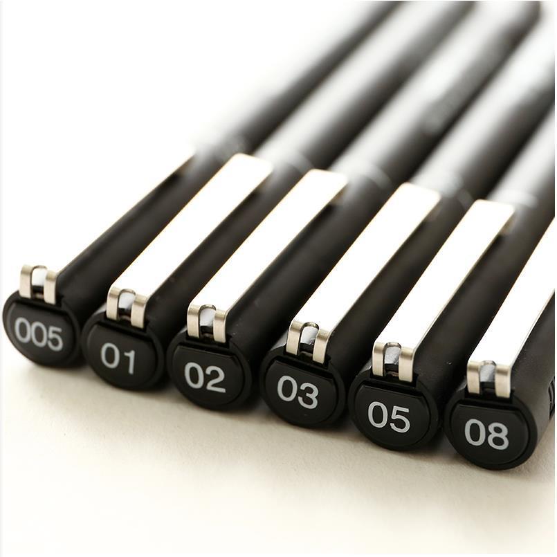 Pigma Micron Needle School Art Supplies Markers Brush Pen Fineliner Permanent Marker Whiteboard Marker Sharpie 04307