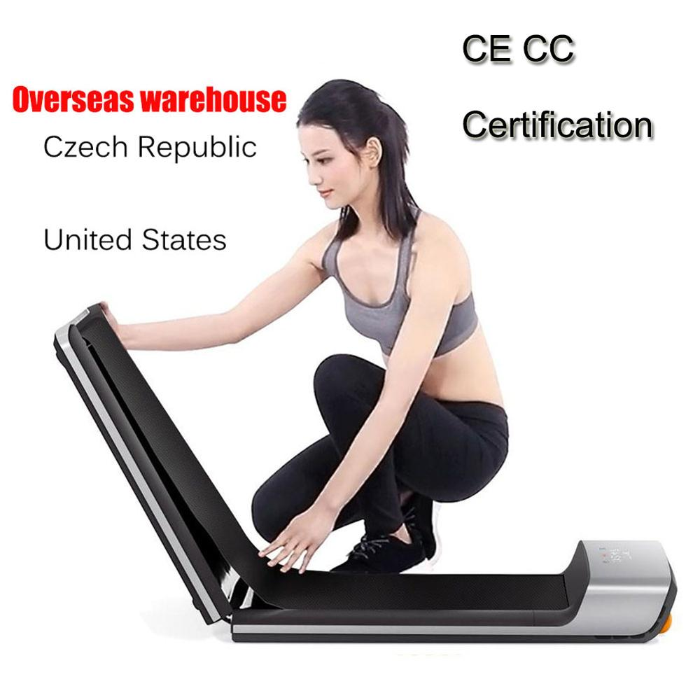 Track Foldable Smart Electric Space Walking Machine Light Sport Treadmill Aerobic Exercise Train Home Workout Track