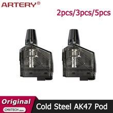 2 sztuk/3 sztuk/5 sztuk tętnicy zimnej stali AK47 pusty wkład Pod 4ML XP NP HPPod Fit E tętnica papierosowa zestaw AK47 zimnej stali MTL DTL