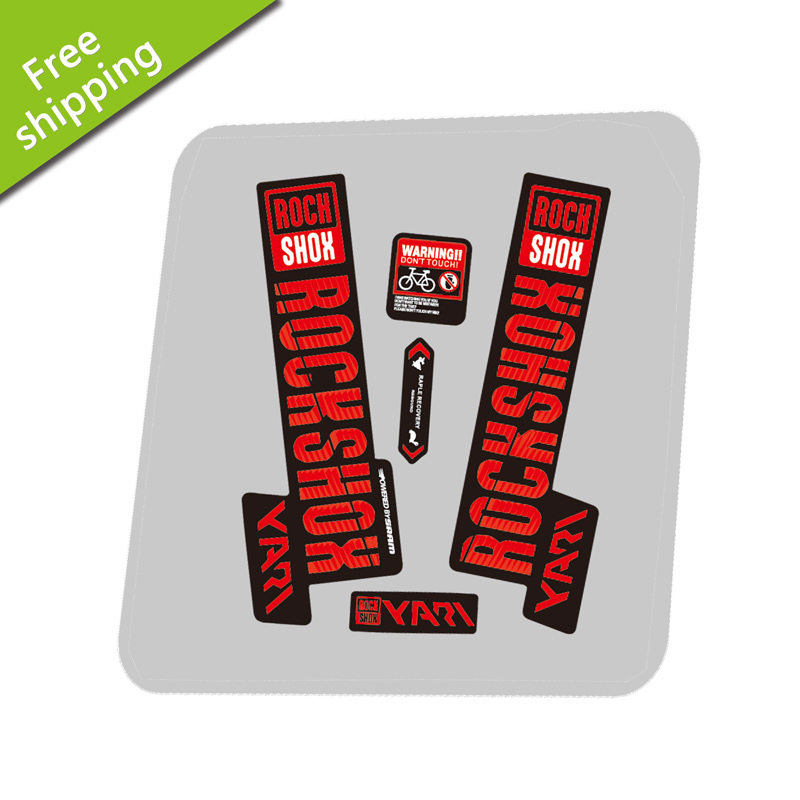 2019 YARI ROCK Shox Fork Sticker for MTB RockShox Mountain Bike Cycling Decals