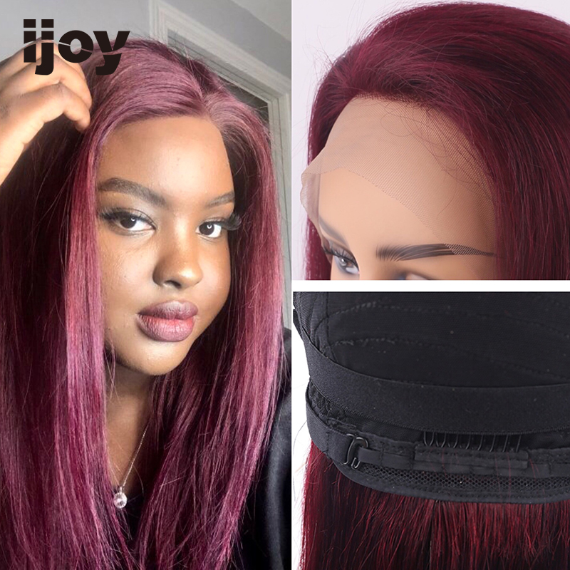 Brazilian Human Hair Wigs With 13x4 Lace Front 8