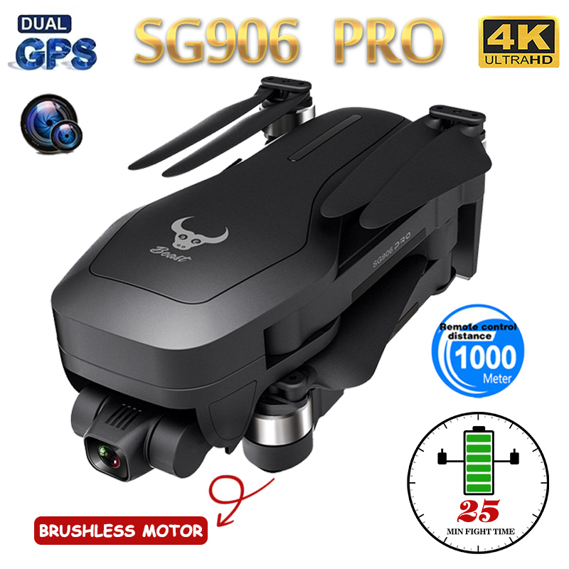 ZLL GPS Drone Camera Gimbal Quadcopter Wifi Fpv Foldable Professional SG906PRO Self-Stabilizing