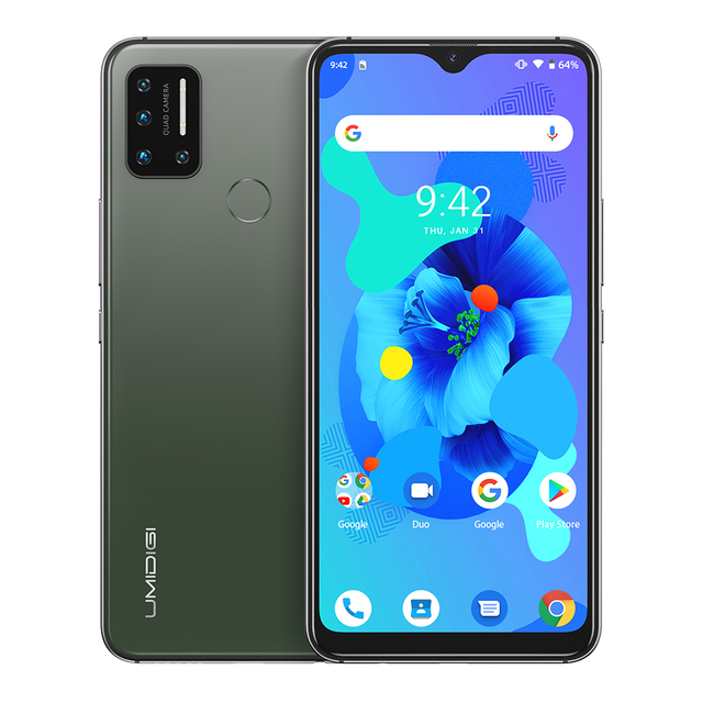 "UMIDIGI A7 Android 10 6.49"" Large Full Screen 4GB 64GB Quad Camera Octa-Core Processor 4G Global Version Smartphone 8"
