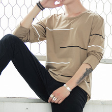 M-4XL Long-sleeved T-shirt New Fall Casual Cotton for men fashions