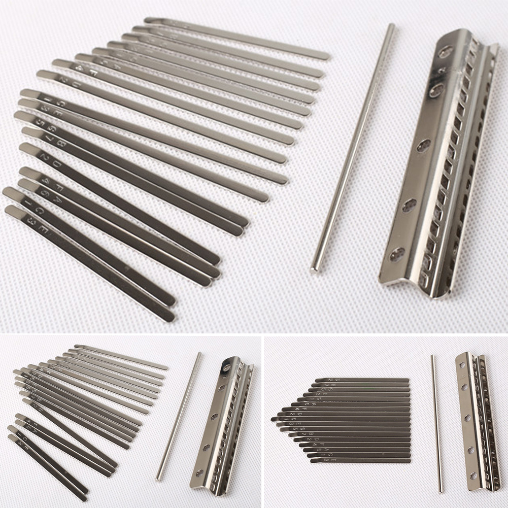 Kalimba Shrapnel DIY Music Plucked Rustproof Manganese Steel Smooth Stringed Instrument Crisp Sound Exercise Fingertip Piano