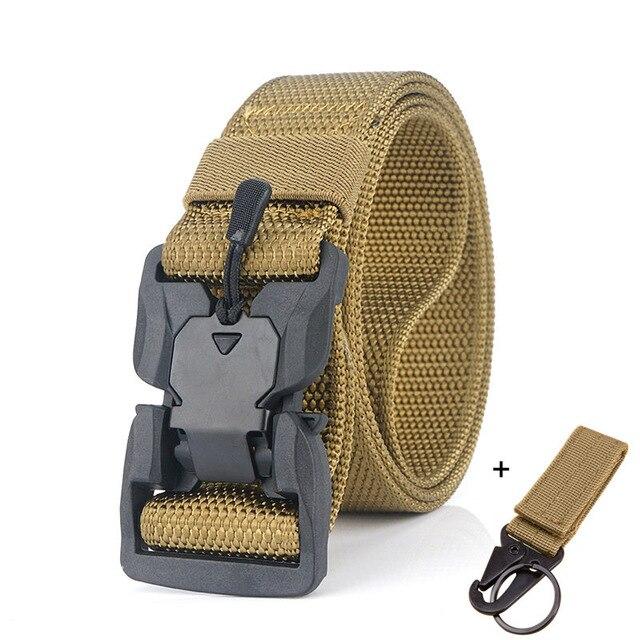 Военный инвентарь армейские тактические ремни для мужчин США армейский тренировочный нейлоновый пояс с металлической пряжкой пояс для охоты на открытом воздухе - Цвет: Khaki5