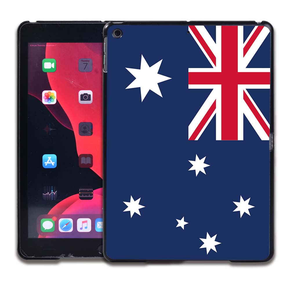 6.Australian flag Gray Tablet Hard Back for Apple IPad 8 2020 8th Gen 10 2 A2270 A2428 Z2429 Z2430