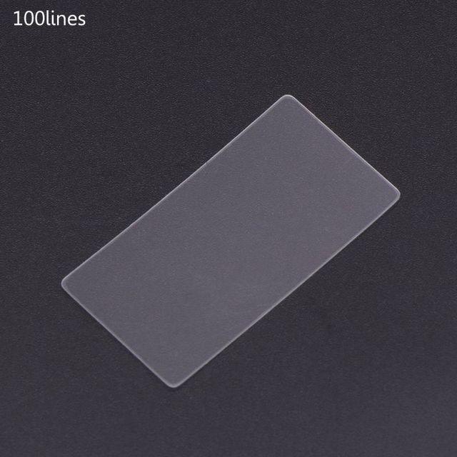 Фото 36x38 мм нано гравировка pet trasmission дифракционная решетка