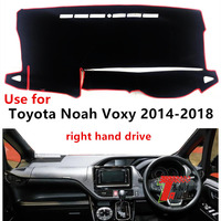 Taijs rechtslenker auto dashboard abdeckung für Toyota Noah Voxy 2014-2018 schutzhülle dacron auto-dashboard matte für noah voxy