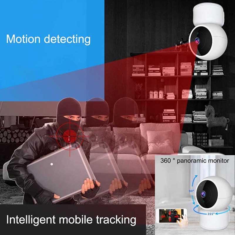 Daytech otthoni biztonsági IP kamera Vezeték nélküli WiFi kamera - Biztonság és védelem - Fénykép 2
