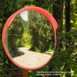 Защитное зеркало 130 градусов широкий угол подъездная дорога Безопасности Дорожного Движения выпуклое зеркало дорожного движения с монтажн...