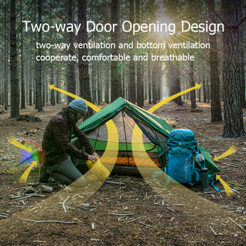 Naturehike Force UL 2 Person Ultralight Tent Hiking Outdoor  3