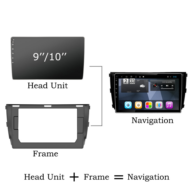 Top Octa Core Android 8.1 Car DVD GPS Navigation For Honda City Greiz Gienia 2015-2018 Radio Stereo with Mirror Link 1