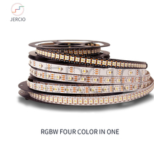 JERCIO RGBW sk6812 WS2812B SMD 5050ic LED strip light  30/60/144 leds/pixel/m;individual addressable IP30/IP65/IP67/ DC5V made sk6812 rgbw similar ws2812b 4 in 1 1m 4m 5m 30 60 144 leds pixels m individual addressable led strip ip30 ip65 ip67 dc5v
