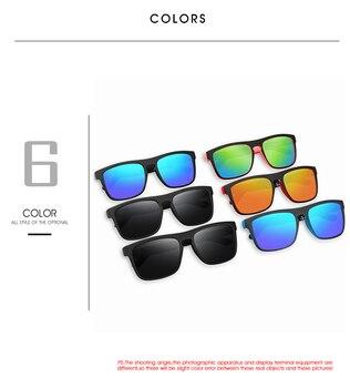 QUISVIKER Square Polarized Sun Glasses - UV400 28