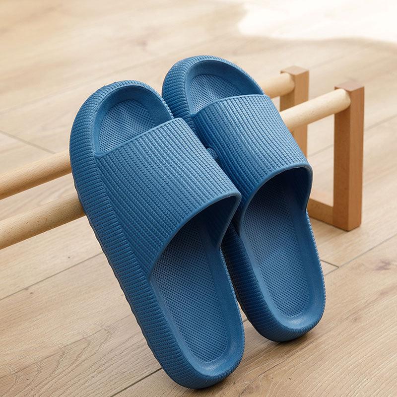 Fashion Slippers Vrouwen Dikke Platform Vrouwen Indoor Badkamer Slipper Zachte Eva Anti-Slip Thuis Vloer Slides Dames Zomer Schoenen mannen
