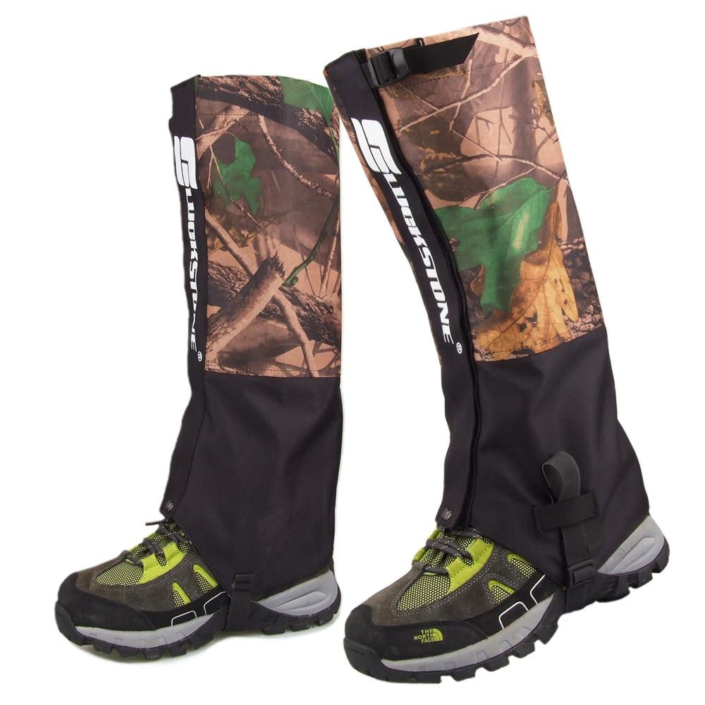 Outdoor Waterproof Leg Cover Camouflage Hiking Gaiters Snow Ski Boot Travel Hunting Windproof Leggings Outdoor Ski Equipment