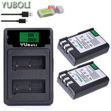 Batterie EL9 el9a ENEL9A ENEL9, pour Nikon D40 D40X D60 D3000 D5000 L15, accessoires d'appareil photo