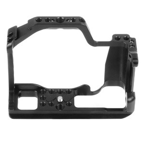 Image 5 - CNC Aluminum Camera Cage for Canon EOS M50 / M5 DSLR Case Cold shoe Mount Expansion Cover Quick Rease Plate Support Photography
