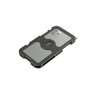 """Image 2 - Smallrig Pro Mobiele Kooi Voor Iphone 11 Pro Max Nauwsluitend Beschermende Kooi Met 1/4 """" 20 Schroefdraad gaten/Koud Schoen Mount   2512"""