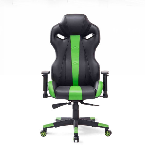 Chairs Quality High Office With Pillow Foot Pad Seat Back Adjustable Lifting Tilt Swivel Chair Artificial Leather Game Chair HWC