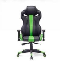 Sillas de alta calidad de Oficina con almohada almohadilla de pie asiento trasero ajustable de elevación inclinación silla giratoria de juego de cuero Artificial HWC