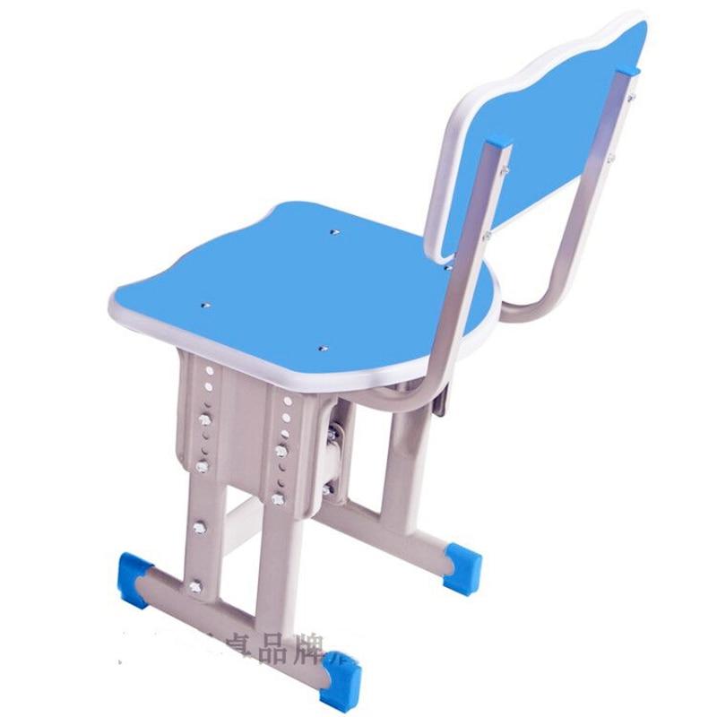 Schoolchildren's Chair Home Back School Classroom Training Desk Counseling Class Stool Child Lift Desk Chair