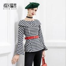 High End Designer'S Original Plaid Shirt For Women Versatile 2021 Early Spring New Year Design