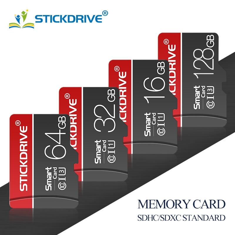 Movimentação interna do flash do armazenamento do microsd 128gb para o telefone esperto cartões novos 4gb 8gb 16gb 32gb 64gb do cartão de memória do tf da classe 10 micro sd