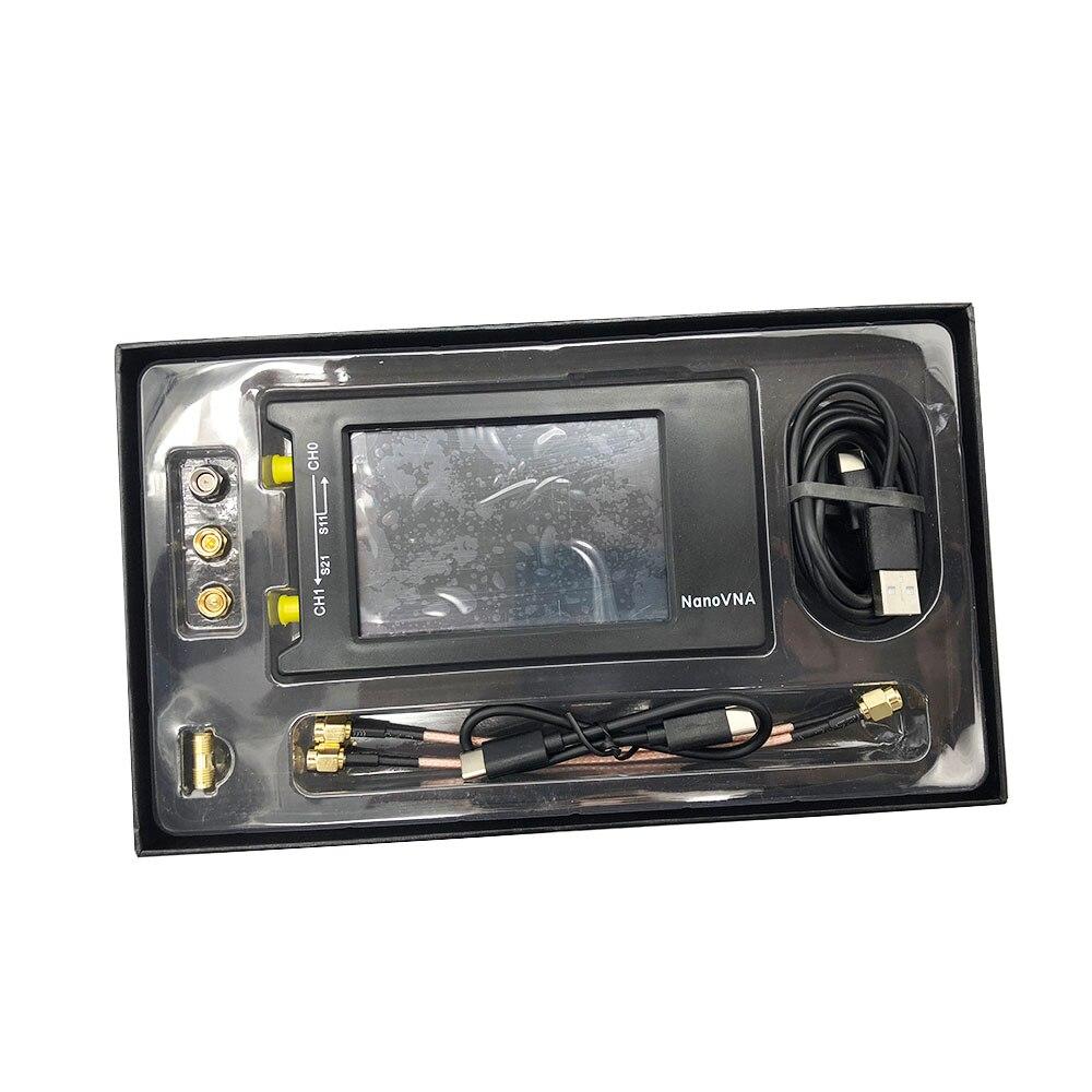 Latest NanoVNA-H4 10KHz~1.5GHz VNA 4inch LCD 1950MAh Battery HF VHF UHF UV Vector Network Antenna Analyzer In Case I3-010