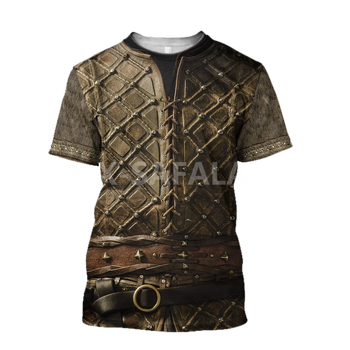 Summer Fashion Men T shirt  Fenrir Viking Odin Tattoo 3D All Over Printed T shirts Unisex Harajuku shirt Casual Tee Tops-3 1