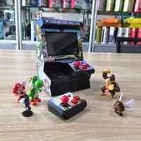 Портативная мини-Ретро Классическая Беспроводная игровая консоль, 8 бит, 4,3 дюйма, TFT, микро-аркадная станция, встроенный 300 игр, ТВ-выход