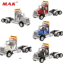 Collectible 71001/71002/71003/71004/71005 Trailer Head 1/50 Scale Diecast International HX520 Day Cab Tandem Tractor Cab Model цена 2017